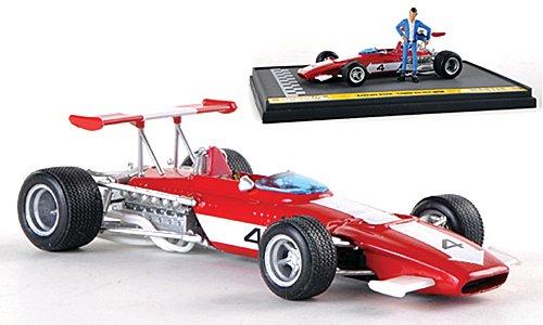 Ferrari 312B, No.4, 1970, Model Car, Ready-made, Brumm 1:43 scania hauber 04 orange model car ready made herpa 1 87