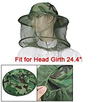 Como Camouflage Patten Beekeeper Hat Beekeeping Face Mask from Como