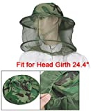 Como Camouflage Patten Beekeeper Hat Beekeeping Face Mask