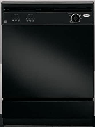 Whirlpool : DU850SWPB 24 Undercounter Dishwasher Black-on-Black