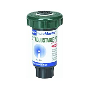 Orbit Sprinkler System 2-Inch Hard Top Pop-Up Head with 10-15-Foot Coverage In Partial To Full Circle 54115