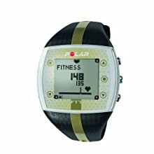 Polar FT7 Women s Heart Rate Monitor Watch Black Gold
