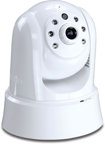 Trendnet Megapixel Hd Poe Pan,Tilt, Zoom Network Surveillance Camera With 2-Way Audio And Night Vision, Tv-Ip662Pi (White)