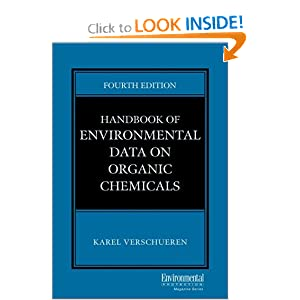 Handbook of Environmental Data on Organic Chemicals,  , Two-Volume Set  by Karel Verschueren