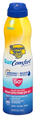 Banana Boat Continuous SPF 50 Spray Sun Comfort 0079656005882