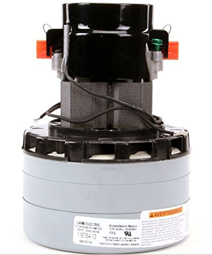 Ametek 120 Volt AC Vacuum Motor 3 Stage for Windsor, Nobles, and Tennant 120V Carpet Extractors - 116764-13 (Windsor Carpet Extractor compare prices)