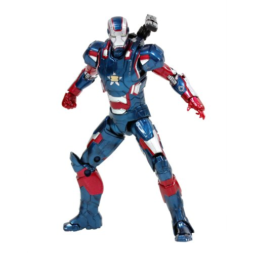 Iron Man 3 Hasbro Action Figure: 6 Inch/Legends #06 Patriot Figure Completed