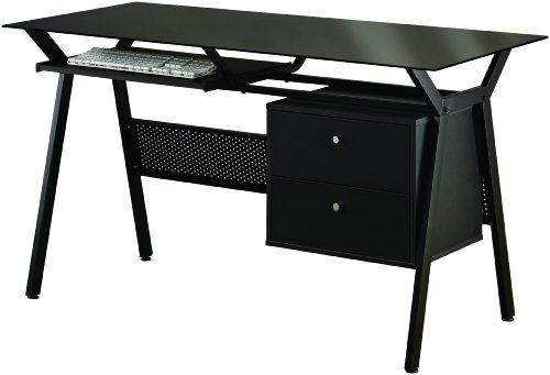 Buy Low Price Comfortable Coaster Computer Desk, Black (B004T3CLSS)