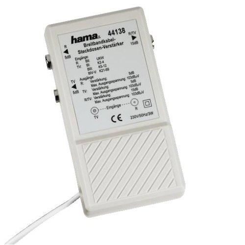 Antennen-Aufsteckverteiler mit Verstärker
