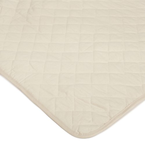 Bargoose Natural Cotton Top Port A Crib/Utility Pad front-87659