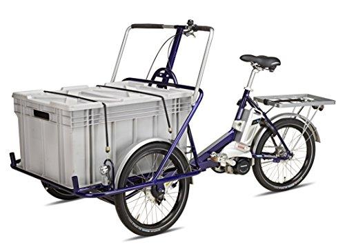 Helkama-E-Cargo-Industriefahrrad-E-Trike-Dreirad-fr-Erwachsene-Lastenrad-Betriebsfahrrad