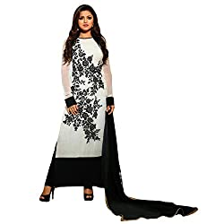 Krishna Present All New wedding Wear Embroidered White Color Dress Meterial.