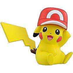 Muñeco Pikachu Monsters Collection con sombrero