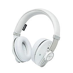 Neojdx Maestro Premium Noise Cancelling Wireless Bluetooth Headphone with NFC - White