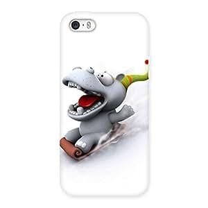 Slide Dog Back Case Cover for iPhone 5 5S