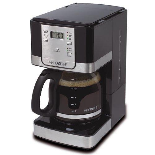 Mr. Coffee JWX27-NPA 12-Cup Progammable Coffeemaker, Black by Mr. Coffee (12 Cup Progammable Coffee Maker compare prices)