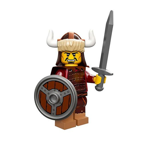 LEGO Minifigures Series 12 Hun Warrior Minifigure [Loose] - 1