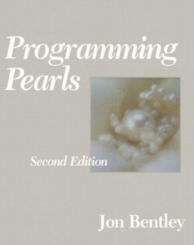 Programming Pearls, 2nd Edition