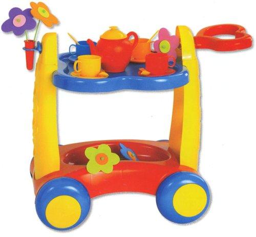 """Wooden Toy Kitchen: Wooden Toy Kitchen - """"Serve'n Play Trolley"""" 20 ..."""