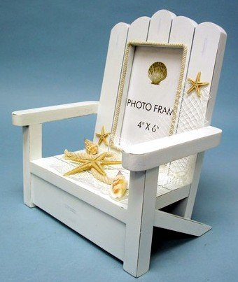 Beach Chair Frame for 4 X 6 Photo Perfect for That Vacation Picture!