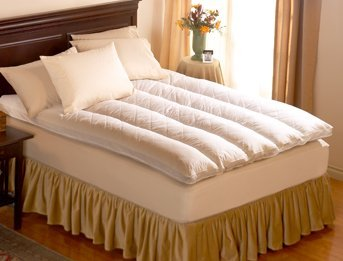 Best Prices! Pacific Coast ® Baffle Channel Euro Rest Feather Bed - Featured in Many Ritz-Carlton Â...