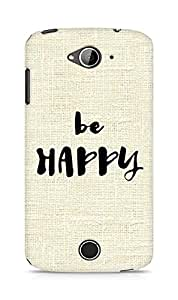 AMEZ be happy Back Cover For Acer Liquid Z530