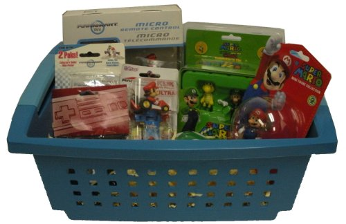 Nintendo Super Mario Supreme Basket - Perfect for Birthdays, Get Well Soon Gift, or Other Special Occasion