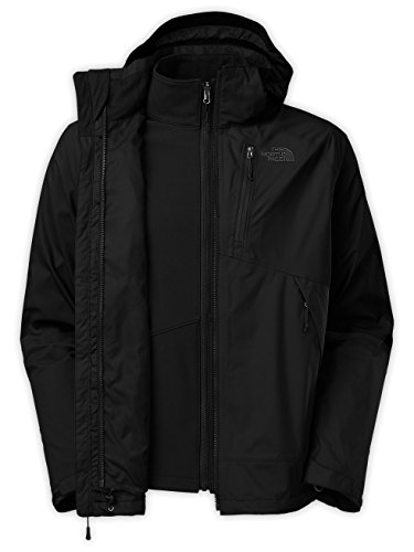 The North Face Mens Condor Triclimate Jacket Asphalt Grey/TNF Black<br />