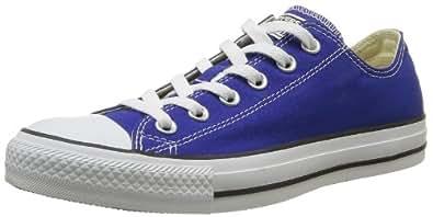 CONVERSE Chuck Taylor All Star Season Ox 015760-550-123, Unisex - Erwachsene Sneaker, Blau (BLEU RADIO), EU 37
