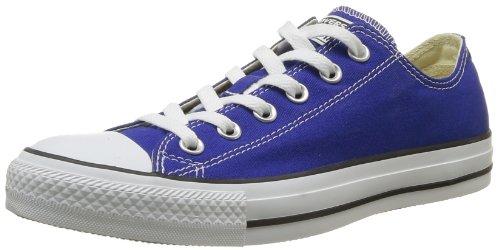 CONVERSE Unisex-Child Chuck Taylor All Star Season Ox Trainers 015760-34-123 Blue Radio 2.5 UK, 35 EU