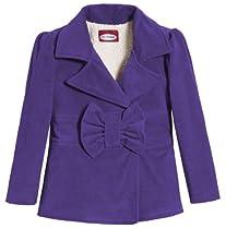 Corduroy Bow Jacket - purple - 7