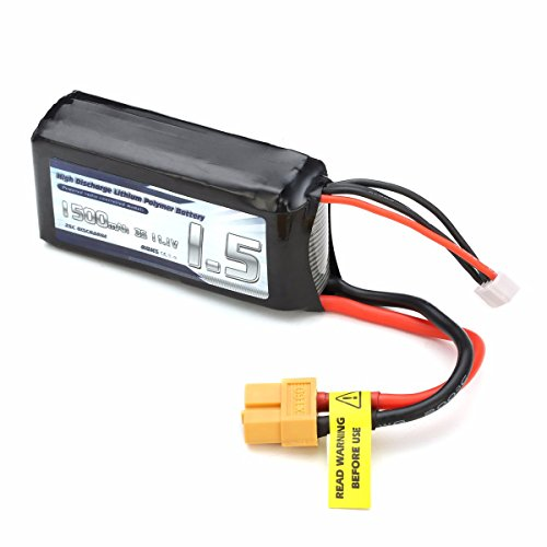 Eachine Racer 250 Drone Spare Part 1500mAh 3S 11.1V Lipo Battery