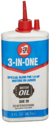 Buy 3-IN-ONE 10045 Motor Oil, 3 oz. (Pack of 1)
