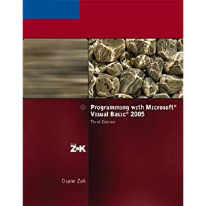 Programming with Microsoft Visual Basic.
