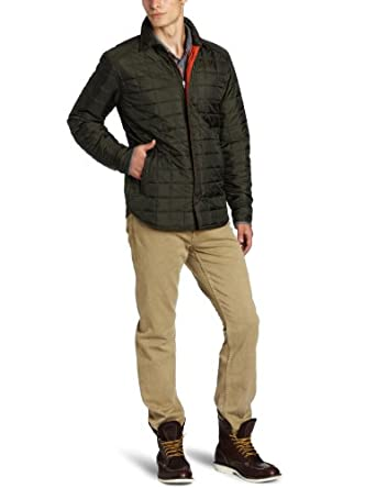 Victorinox Men's Quilted Overshirt, Lancaster Olive, X-Large