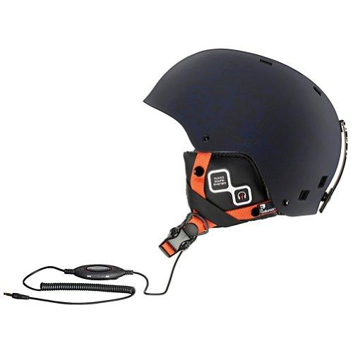 Salomon Brigade Audio Ski Helmet (Blue Matt, Small)