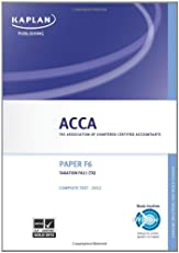Acca Complete Study Text: F6 TX (Fa11).