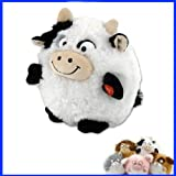 Interactive Puffster Cow Crazy Laughing Plush Toy Vibrating