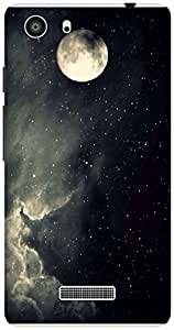 The Racoon Grip Sky Full of Stars hard plastic printed back case / cover for Micromax Unite 3