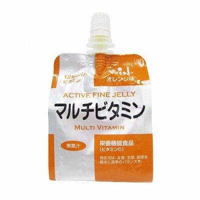 アクティブ ファイン ゼリー マルチビタミン オレンジ味 180g