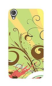 SWAG my CASE Printed Back Cover for HTC Desire 820