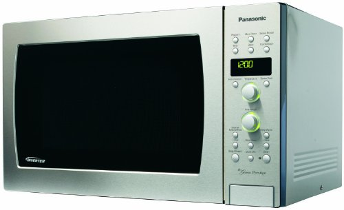 "Panasonic NN-CD989S ""Prestige"" 1.5cuft, 1100 Watt Stainless Steel Convection Microwave Oven, Inverter Technology"