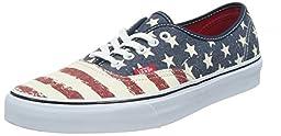 Vans Authentic (Americana Dress Blues) Mens Skate Shoes-10.5