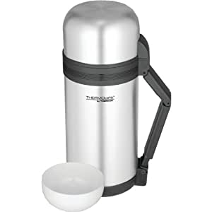 Thermos Df2212w2 Vacuum Insulated Food and Beverage Bottle, 1.3-Quart
