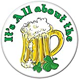 It's All About The Beer Button Party Accessory (1 count) (1/Pkg)