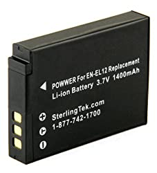 STK's Nikon Coolpix S9100 Battery - 1400mAh from Sterling Publications