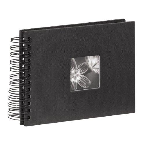 Hama 24 x 17/ 50 cm Fine Art Spiral Album, Black