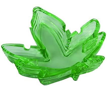 Pot Leaf Shaped Ashtray