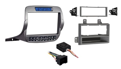 Metra 99-3010S-LC Double/Single DIN Installation Kit for Chevy Camaro 2010-UP (Silver)