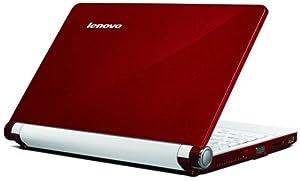 Lenovo Ideapad S10e 25,7 cm (10,1 Zoll) WSVGA Netbook (Intel Atom N270 1,6GHz, 512MB RAM, 160GB HDD, Intel GMA950, XP Home) rot